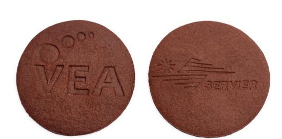 Nowość - ciastka z logo